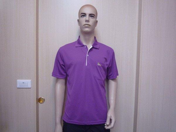 「喜樂屋戶外」台灣製男款短袖POLO排汗衫排汗衣抗UV透氣、快乾 G21011 零碼出清 團體服訂製