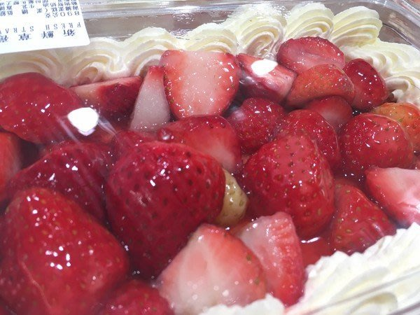 COSTCO.好市多,草莓奶酪,草莓千層蛋糕.