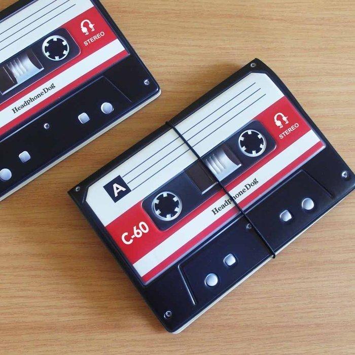 音樂錄音帶造型 護照夾/證件夾 立體紋路材質