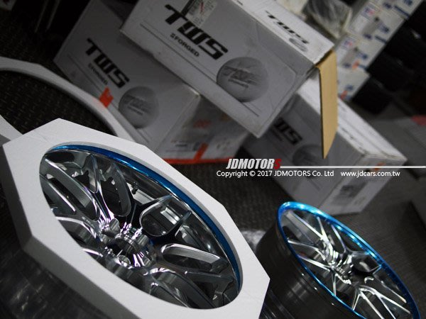 JD-MOTORS 日本TWS Reizend WX07 19吋 / 20吋 雙片式 鍛造鋁圈 另有WORK SRR