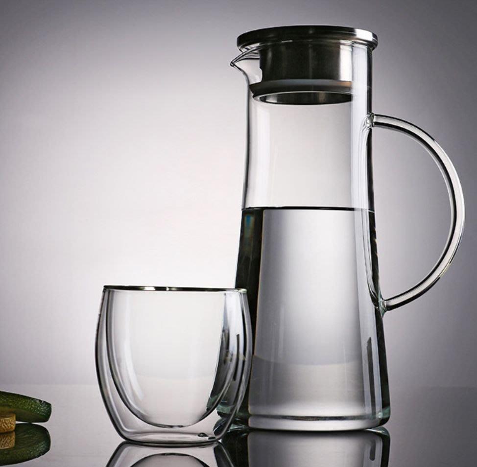 楞宅 ~ 帶蓋過濾玻璃果汁壺耐熱冷水壺大容量 1500ml / VX3