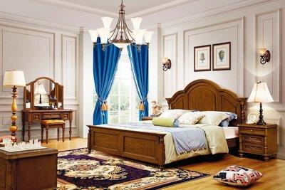 【大熊傢俱】6508 玫瑰 新古典床  雙人床 歐式古典   歐式 床架  皮床 雙人床台 新古典 五尺床 六尺床