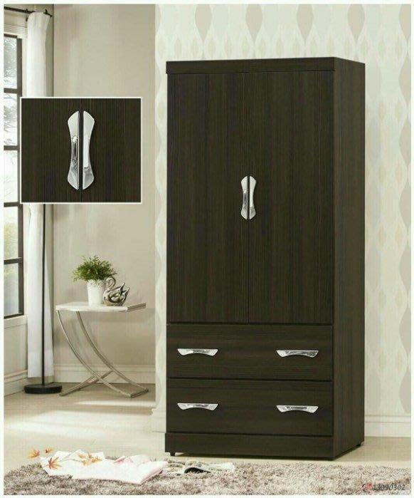 全新庫存家具賣場 *全新黑彩單人衣櫃* 衣櫥 斗櫃 庫存傢俱拍賣