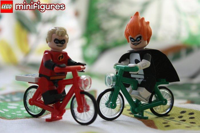 現貨超值組【LEGO 樂高】迪士尼人偶系列: Disney 71012 | 超人特攻隊: 超能先生+辛拉登+兩台腳踏車