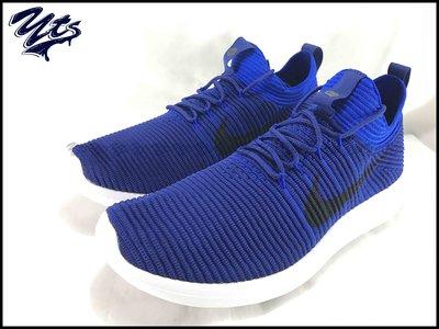 @ NIKE ROSHE TWO FLYKNIT 藍黑 2代 編織 復古 慢跑鞋 男鞋 918263 400 YTS