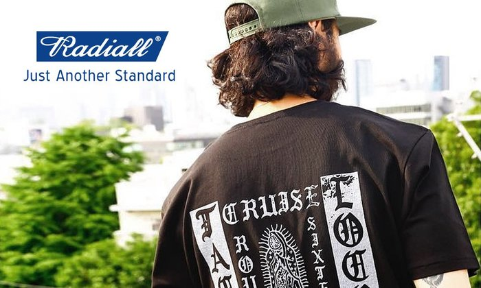 GOODFORIT/ 日本男裝品牌 Radiall TACOS LOCOS 聖母墨西哥夾餅短袖上衣/兩色