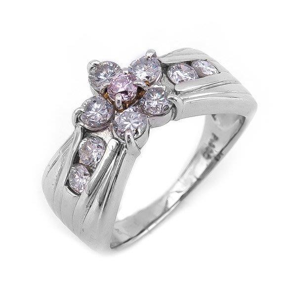 【JHT 金宏總珠寶/GIA鑽石專賣】1.02ct天然鑽石戒指/材質:PT900(JB17-09)