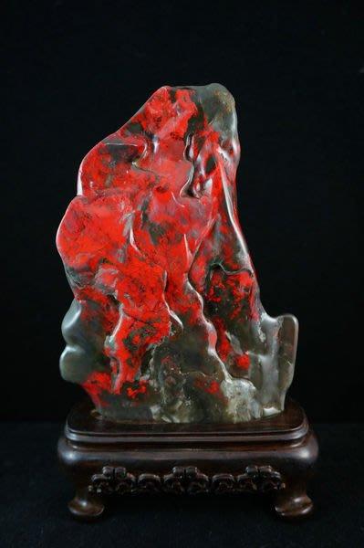絕品~~國寶昌化雞血石----- 牛角凍地 雞血石 平安無事 絕世珍藏 百分百華麗呈現