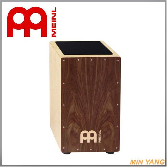 【民揚樂器】『免運優惠』 木箱鼓 德國MEINL CAJ3WN-M 胡桃木『公司貨附發票』
