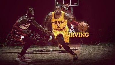 騎士隊歐文海報定做超大巨幅壁紙NBA籃...
