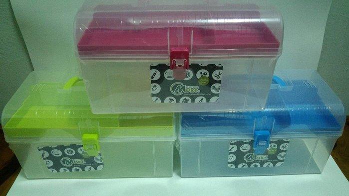 製 MORY 04536 大妮可手提收納盒 工具箱 透明手提箱 零件盒 置物盒 醫藥箱 整