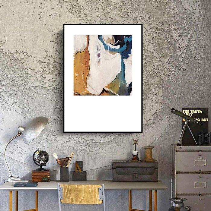 北歐風格客廳沙發背景牆裝飾畫玄關走廊壁畫抽象臥室酒店床頭掛畫(3款可選)