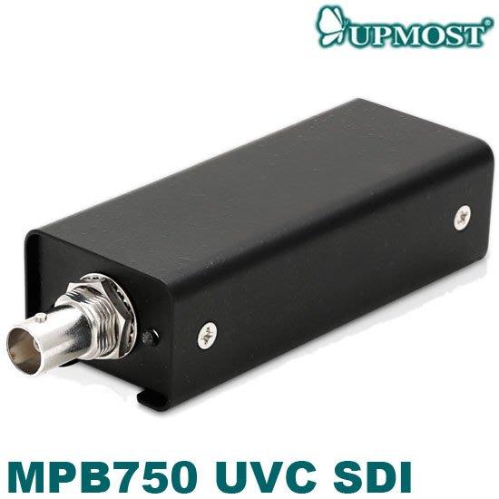 【MR3C】含稅附發票 UPMOST登昌恆 MPB750 UVC SDI 影像擷取器