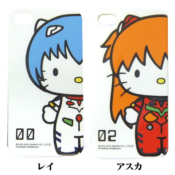 《Greens selection》EVANGELION 福音戰士 X HELLO KITTY 聯名企劃商品iPhone4/4s手機殼