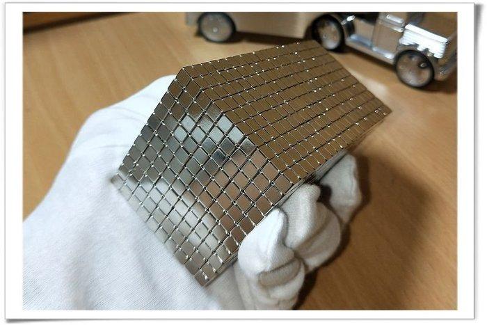 釹鐵硼強力磁鐵-5mmx5mmx5mm--做造型擺飾或是當做便利貼都很好用哦!