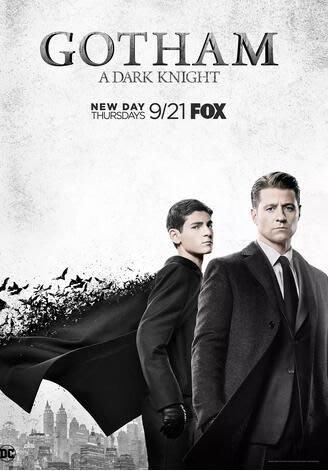 哥譚第四季 Gotham 4(即將到貨)