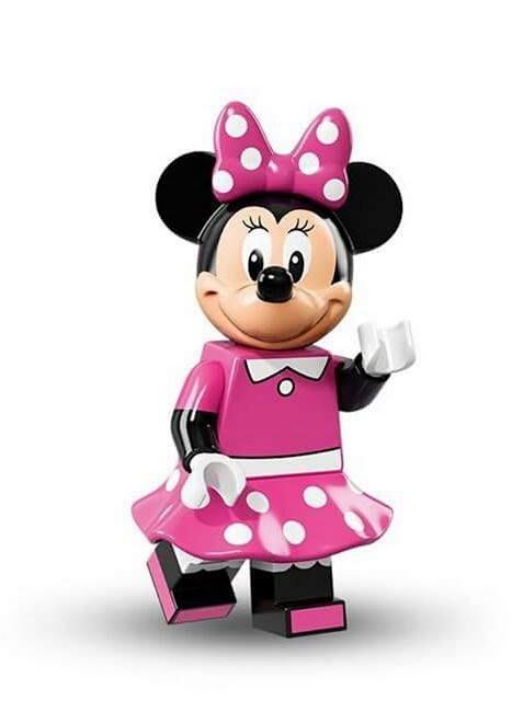 現貨【LEGO 樂高】Minifigures人偶系列: 迪士尼Disney 人偶包抽抽樂71012| 米妮 Minnie
