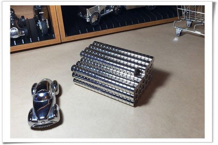 強力磁鐵圓形10mmx6mm-工具車收納或當便利貼都適用哦!