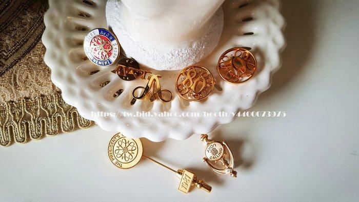妍媽咪ㄉ西洋古董~美國AVON60~80年代Collectible Pins 特色小胸針/帽針~Vintage 復古珠寶