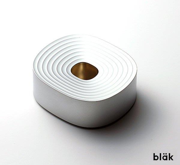 GOODFORIT / 韓國修容廠牌BLAK Stand極簡水波紋矽膠刀具立架/兩色