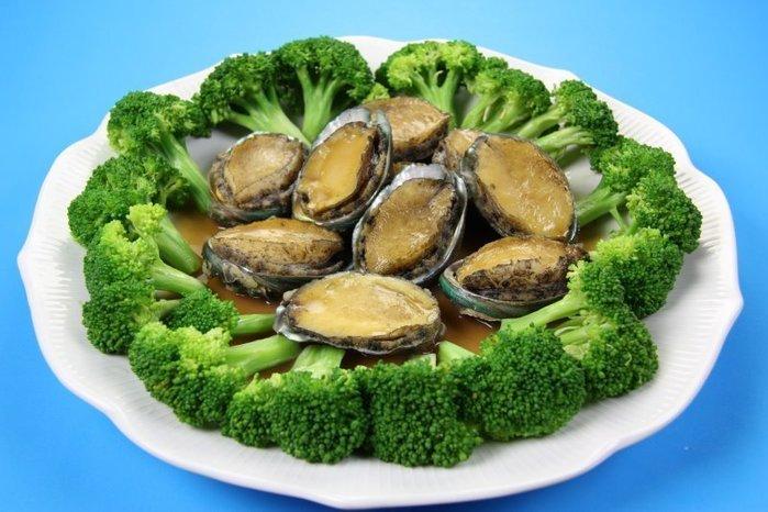 【年菜系列 】帶殼鮑魚(又稱九孔鮑)(半熟凍)(24顆 / 1000g)1顆 ~ 教你作紅燒帶殼鮑魚 ~新鮮好滋味
