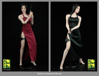 JAMES ROOM#AFS A003 生化危機 惡靈古堡ADA王女殺手性感旗袍套裝