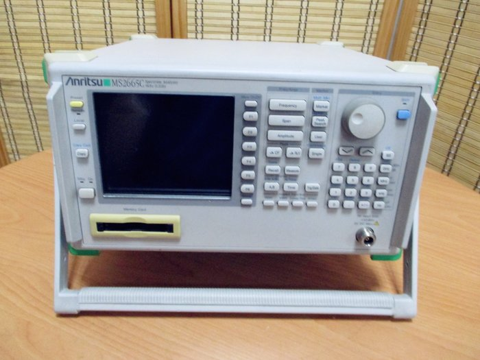 康榮科技儀器領導廠商Anritsu MS2665C/02 Spectrum Analyzer 21.2 GHz