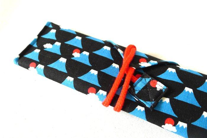 【 RGT 】全新 | 手作市集 | 環保筷具/環保筷袋/餐具袋/工具袋 | 富士山 (無筷具)