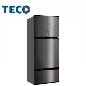 原廠公司貨【TECO 東元】610公升變頻三門冰箱 (R6181VXHS)鈦空灰