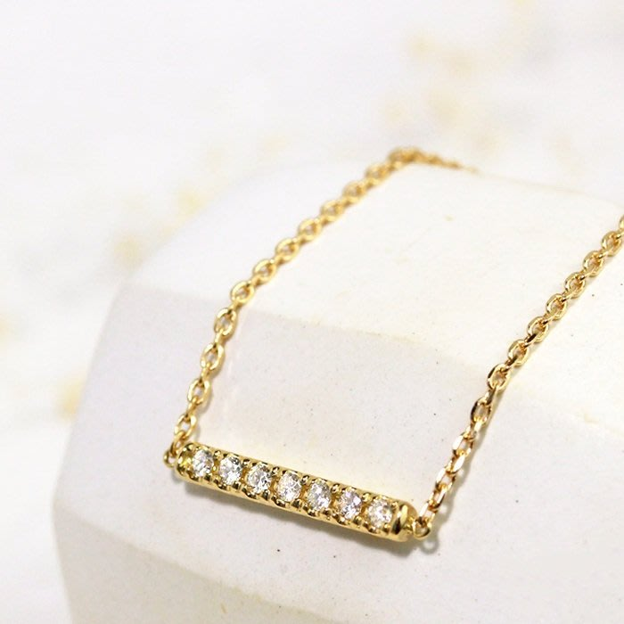 日本訂製18k金排鑲鑽石手鍊手鏈 tiffany cartier agete Vendome Aoyama可參考