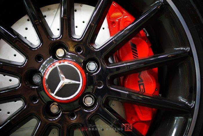 ㊣M-Benz C-Class W117 CLA200 CLA250 專用直上 A45 AMG 原裝四活塞組 / 制動改