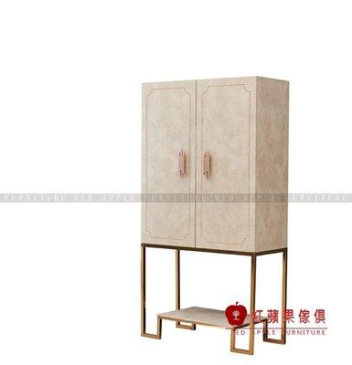 [ 紅蘋果傢俱 ] SL238 歐式美式系列 多功能櫃 儲物櫃 收納櫃 櫃子 數千坪展示