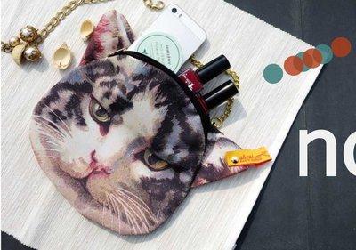帥氣小貓手提包