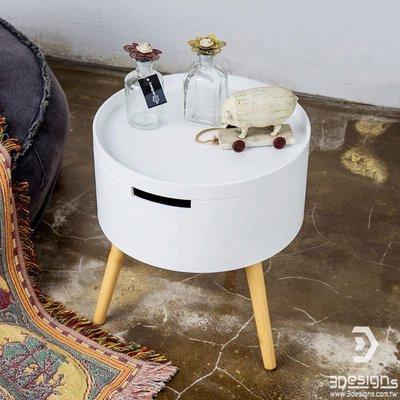 北歐風小圓桶收納實用造型小茶几 小邊几 小桌子 休閒小圓桌 沙發邊几 小邊桌 咖啡桌 收納桌 矮桌