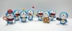 【紫色風鈴3】動漫周邊批發多啦A夢機器貓8款百寶小叮噹袋裝擺件