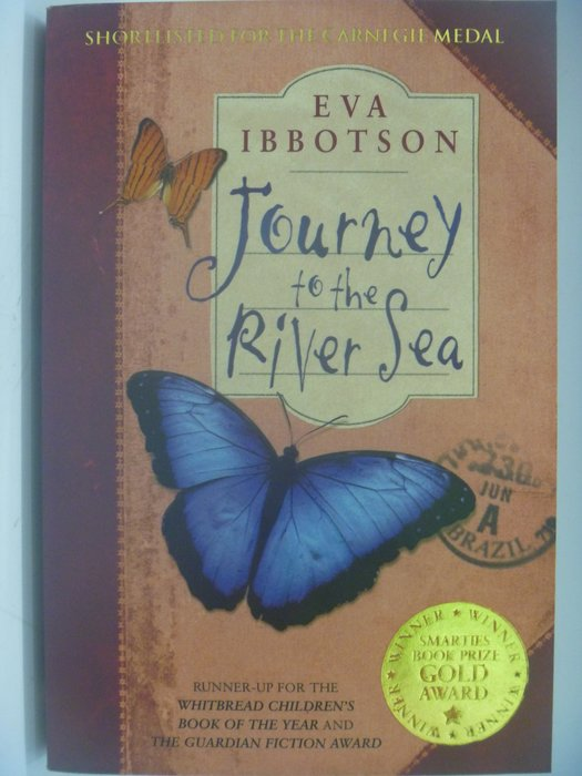 【月界】Journey to the River Sea_Eva Ibbotson_原價673 ║外文小說║CCW
