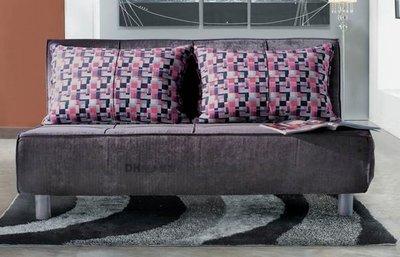 【DH】貨號N653-1《哈蕾》灰色雙人沙發床˙小空間最佳選擇˙布套可拆洗˙主要地區免運