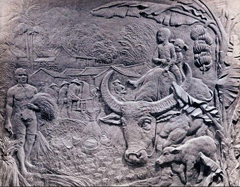 楊英風 銅雕 豐年樂 169X145X8cm (壁雕、浮雕、朱銘、木雕、裝置藝術、投資、台灣、本土、藝術、李真、洪易)