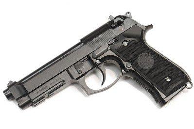 WE M9A1 黑色-單連發/單匣版--彩盒版