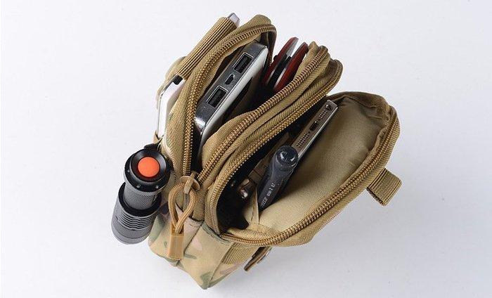 軍迷戰術腰包 戶外運動腰包 多功能腰包 零錢包 皮帶休閒 手機包 腰包背包