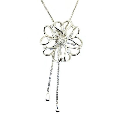【JHT 金宏總珠寶/GIA鑽石專賣】0.63ct天然鑽石造型項鍊/材質:18K(JB41-A44)