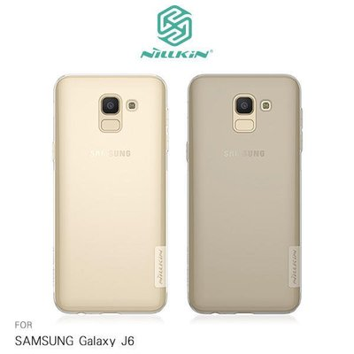 *phone寶*NILLKIN SAMSUNG Galaxy J6 本色TPU軟套 手機套 超薄果凍套 透色套 保護殼