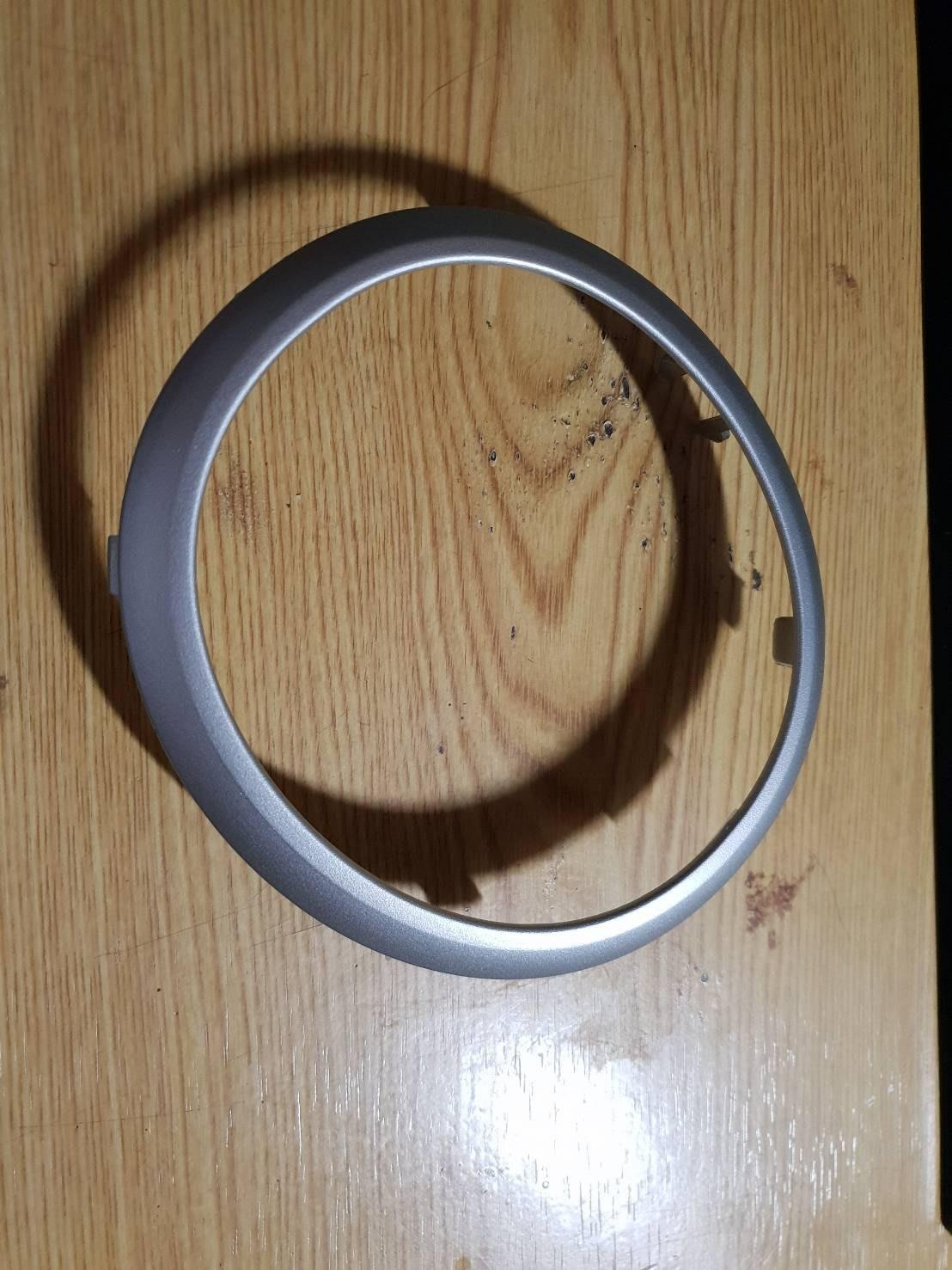 MS精品  鈴木 SUZUKI SWIFT 排檔座 銀色 外框 飾板