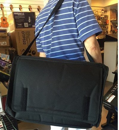 【六絃樂器】全新台灣製 Yamaha EMX5 EMX7 功率混音器攜行袋 保護套防水套 / 舞台音響設備 專業PA器材