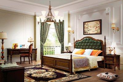 【大熊傢俱】6507 玫瑰 新古典床  歐式 床架  皮床 雙人床台  雙人床 歐式古典  新古典 五尺床 六尺床