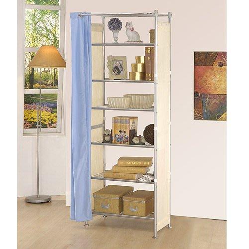 衣櫥【家具先生】W7型60公分層架---可升級成完全防塵層架  (衣架/置物架/收納架(G)
