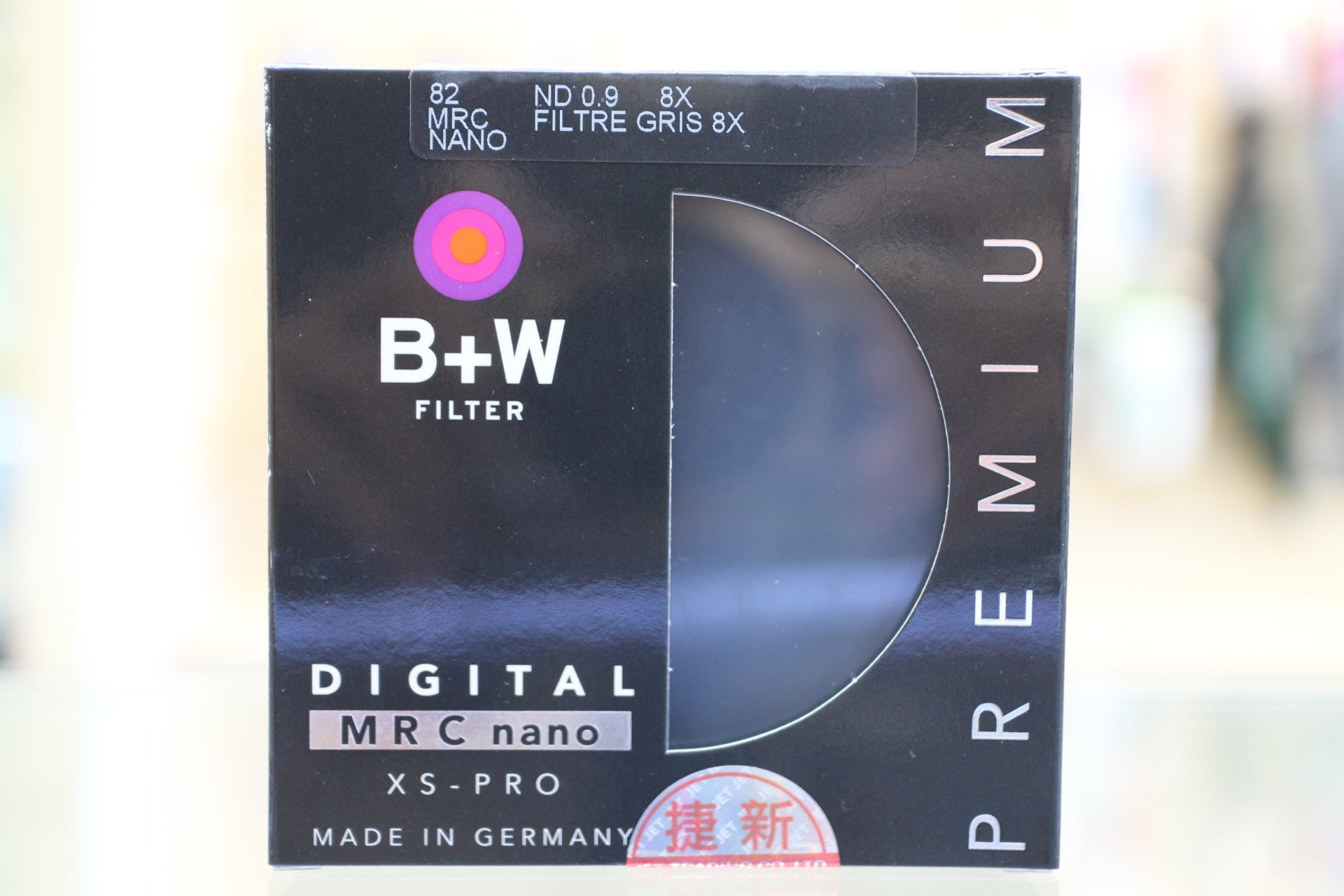 【日產旗艦】B+W XS-Pro 803 ND8 0.9 MRC Nano 減光鏡 82mm 奈米鍍膜 薄框 捷新公司貨