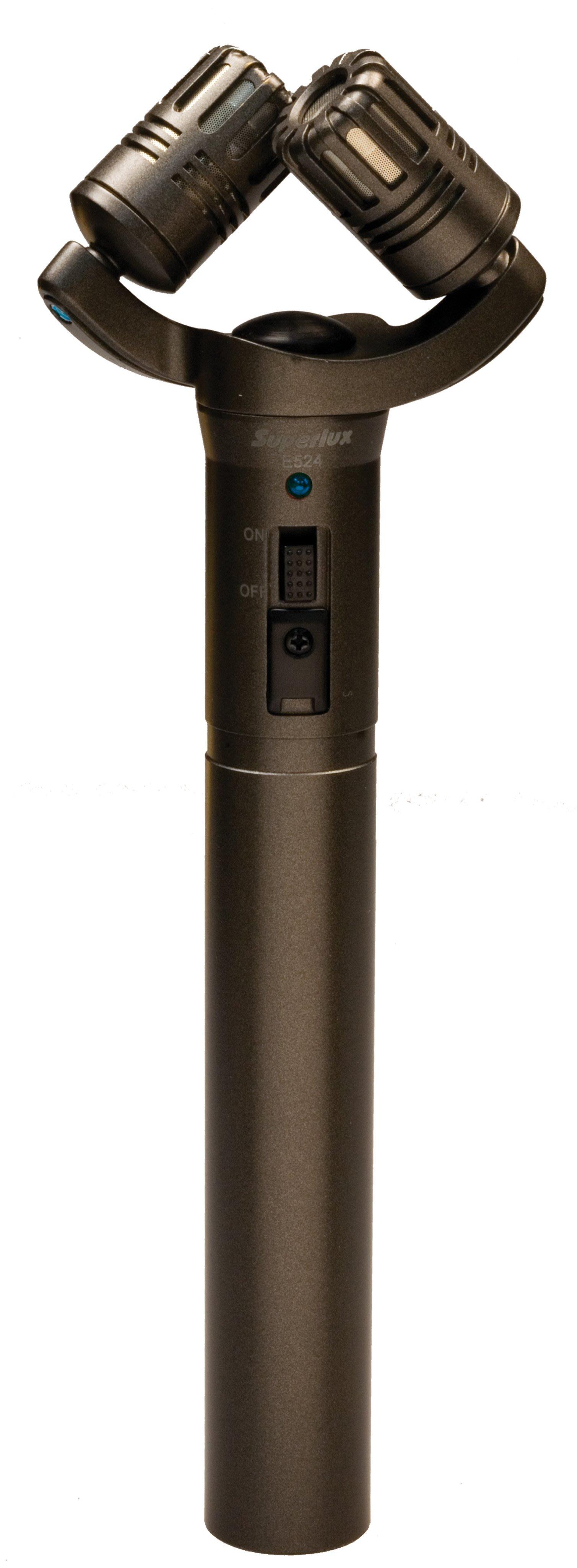 三一樂器 Superlux E524D XY型 立體聲 麥克風