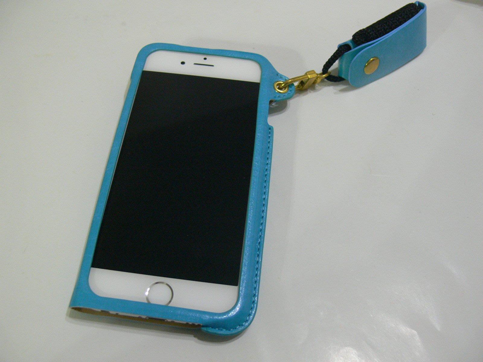 iPhone6 6S 4.7吋 掛繩 頸掛皮套 皮革 皮套 可立架 保護套 手機殼 背蓋 可插卡