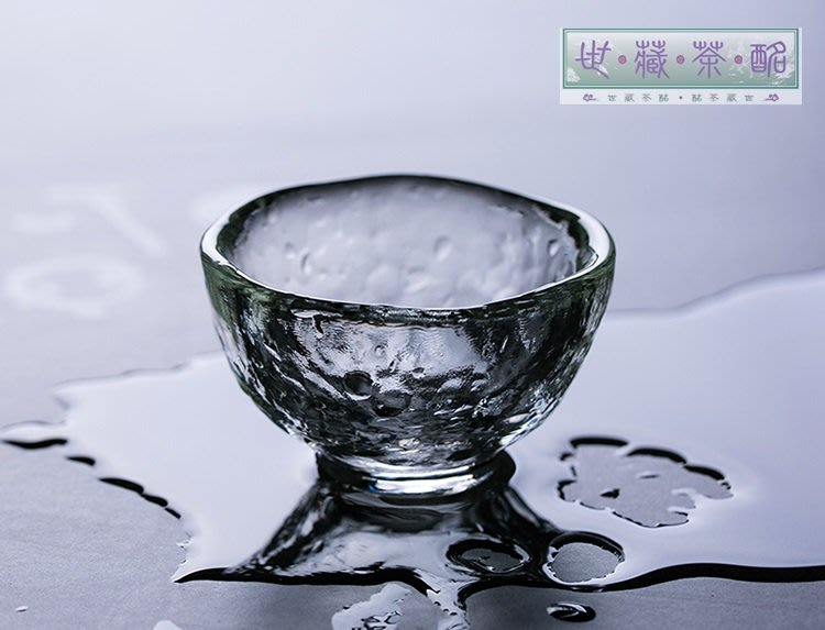 世藏茶酩|茶具|津輕耐熱水晶玻璃杯 小茶杯 日本進口手工錘紋燒酒杯 清酒杯